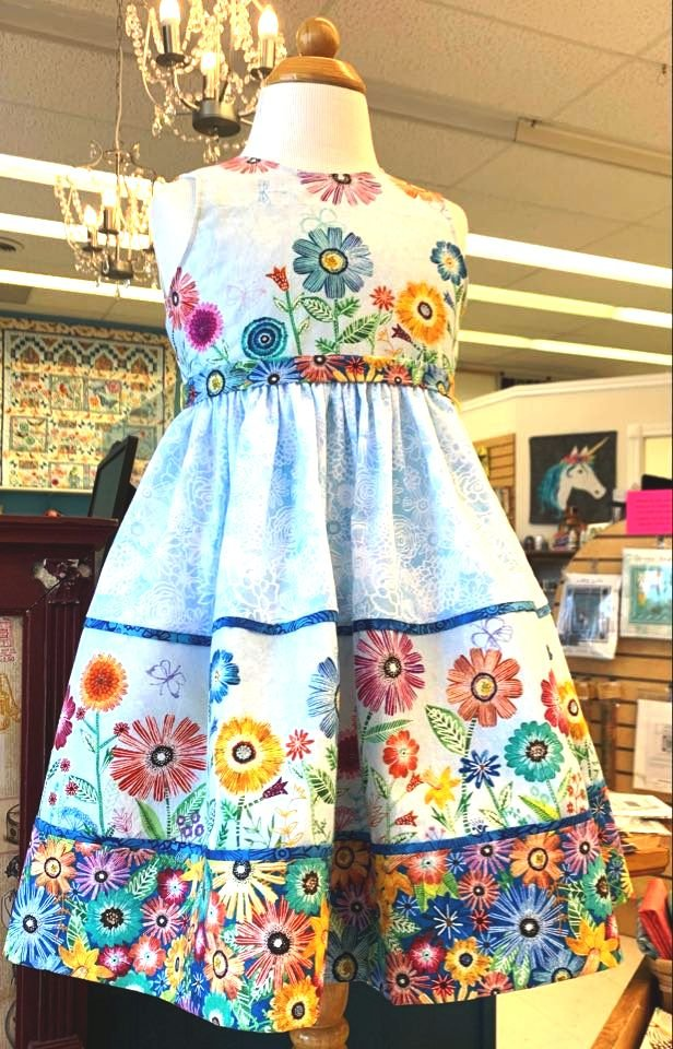 Floral Flight Party Dress Kit
