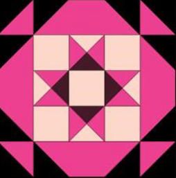 Quilter's Quest Pink Block Kit
