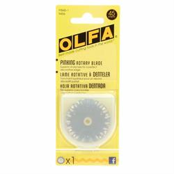 Olfa 45mm Pinking  Rotary Blade #9456