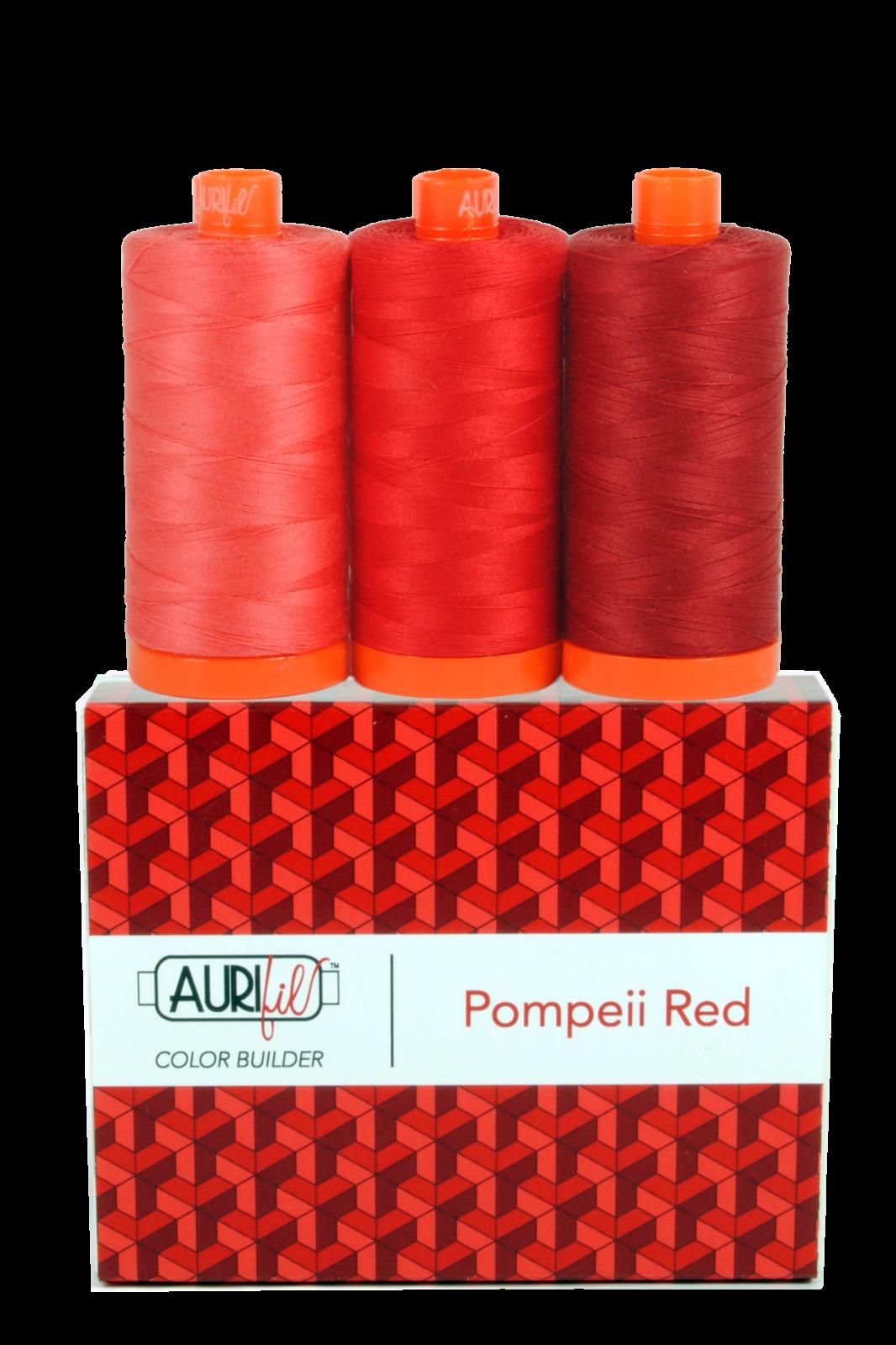 Aurifil Color Builder - Pompeii Red - 50wt