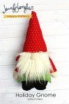 Holiday Gnome Softie Pattern