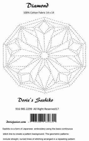 Sashiko Diamond