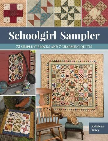 Schoolgirl Sampler Book - #B1538T