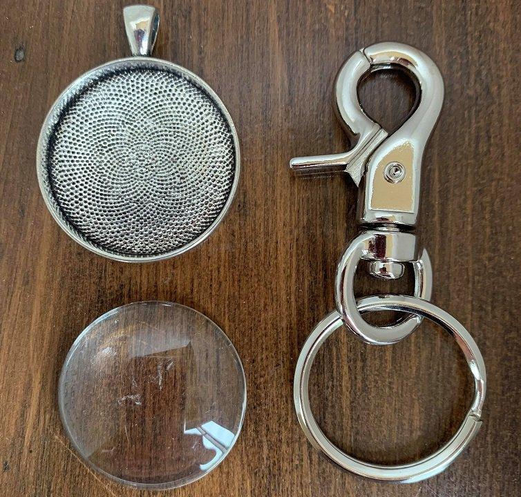 Keychain Kit - Silver