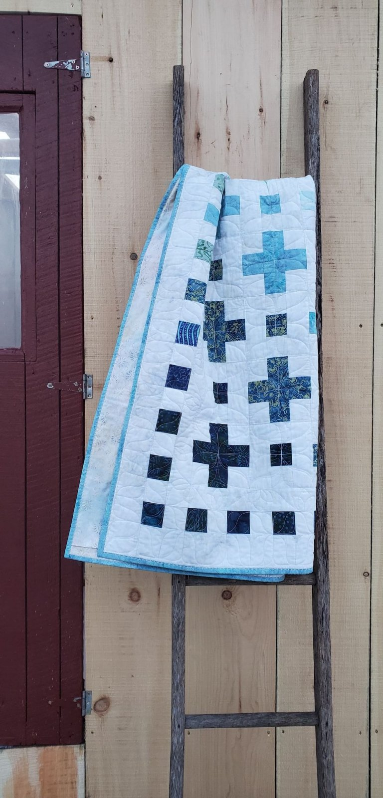 Transitions Lap Quilt - Store Sample
