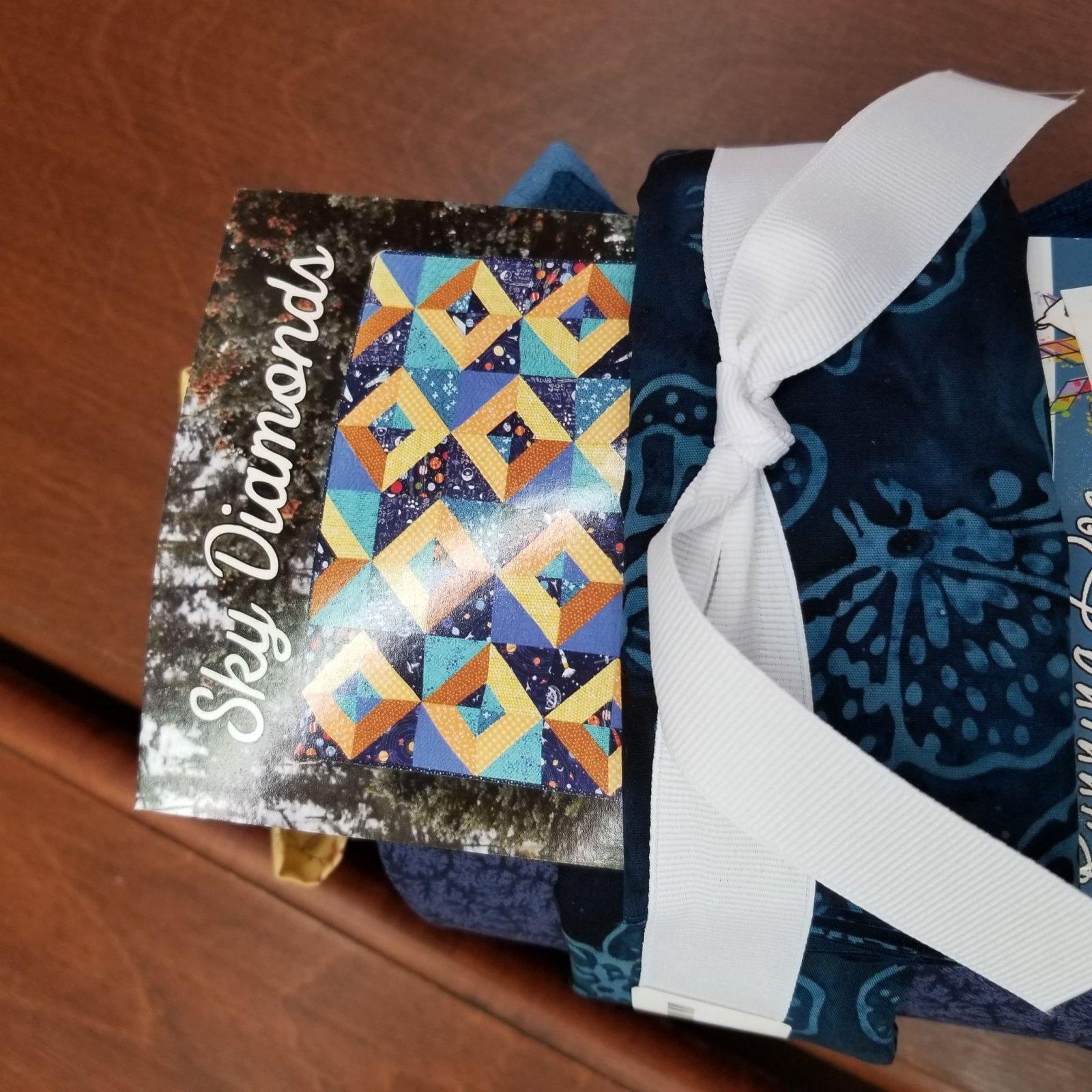 Sky Diamonds Quilt Kit