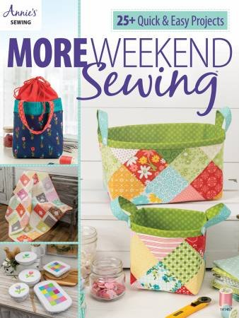 More Weekend Sewing PLUS 3 project kits