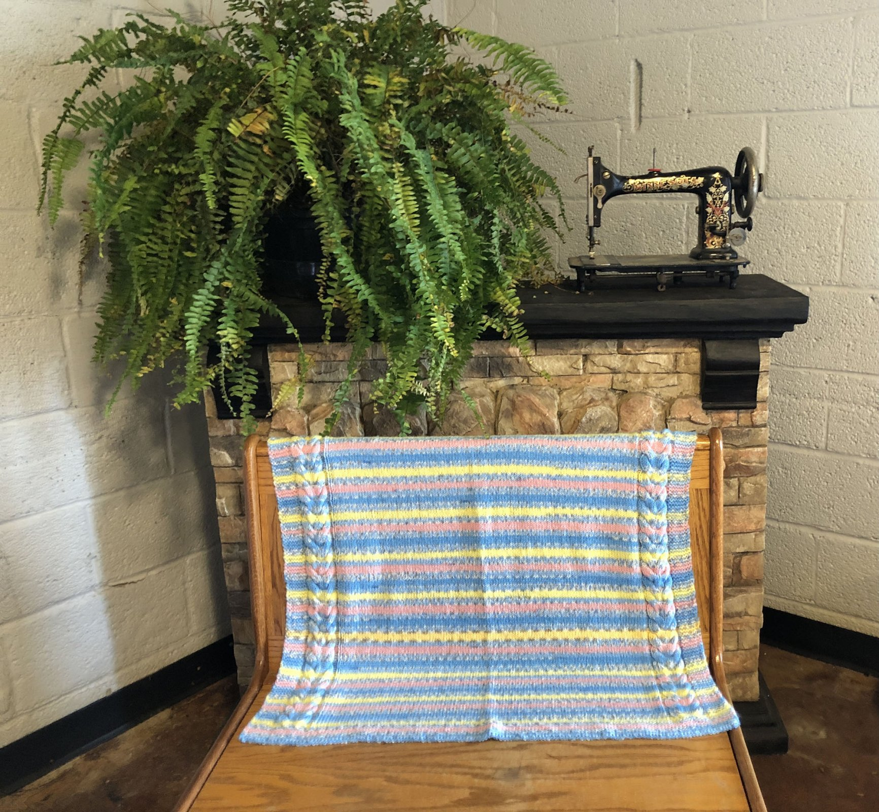 Knitted Afghan Blankets