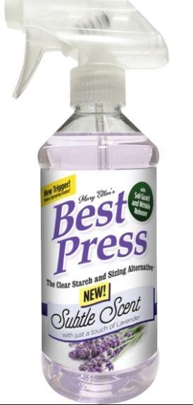 Best Press 16oz-Subtle Scent w/Lavender