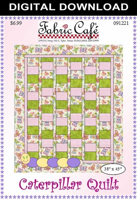 Caterpillar Quilt Pattern