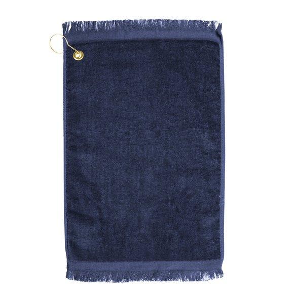 Premium Velour Golf Towel-Navy
