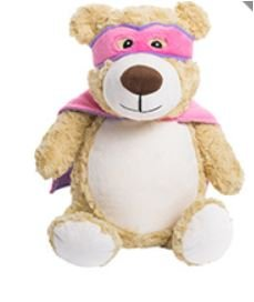 Cubbies Hero Pink Bear