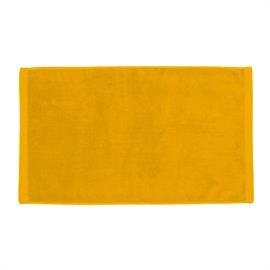 Premium Velour Hand Towel-Gold