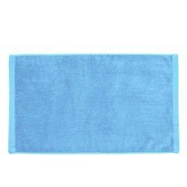 Premium Velour Hand Towel-Lt Blue