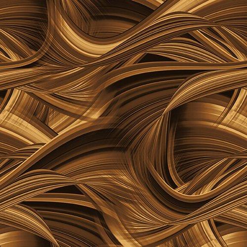 108 Backing Sedona Wave-Brown