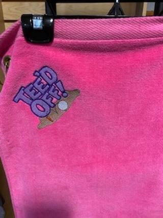 Golf Towel - Teed Off