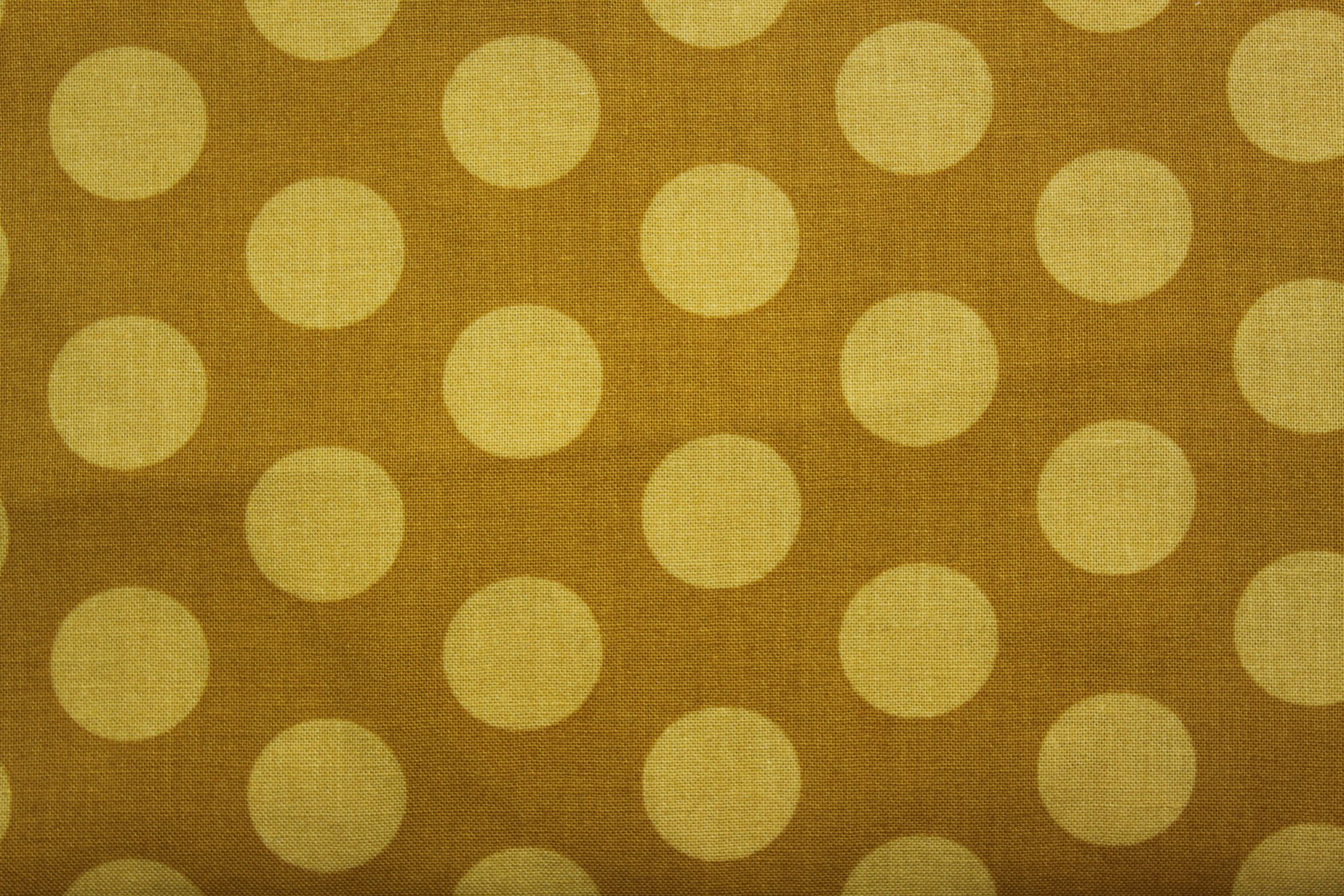 Gold with Yellow Dot