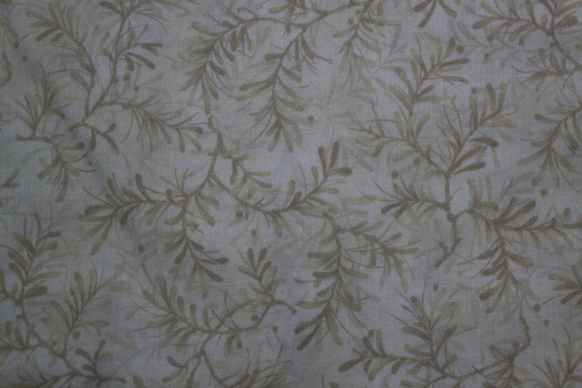 108 Pine Boughs Wide  Cream