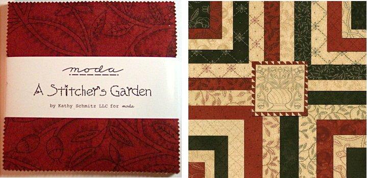 A Stitcher's Garden Charm