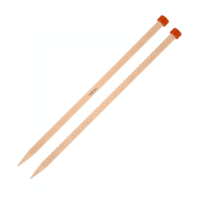 Knitter's Pride - Basix Birch Single Point Needles - 10