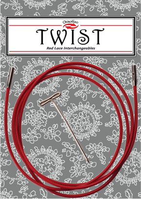 ChiaoGoo - TWIST Red Interchangeable Cables (Large)