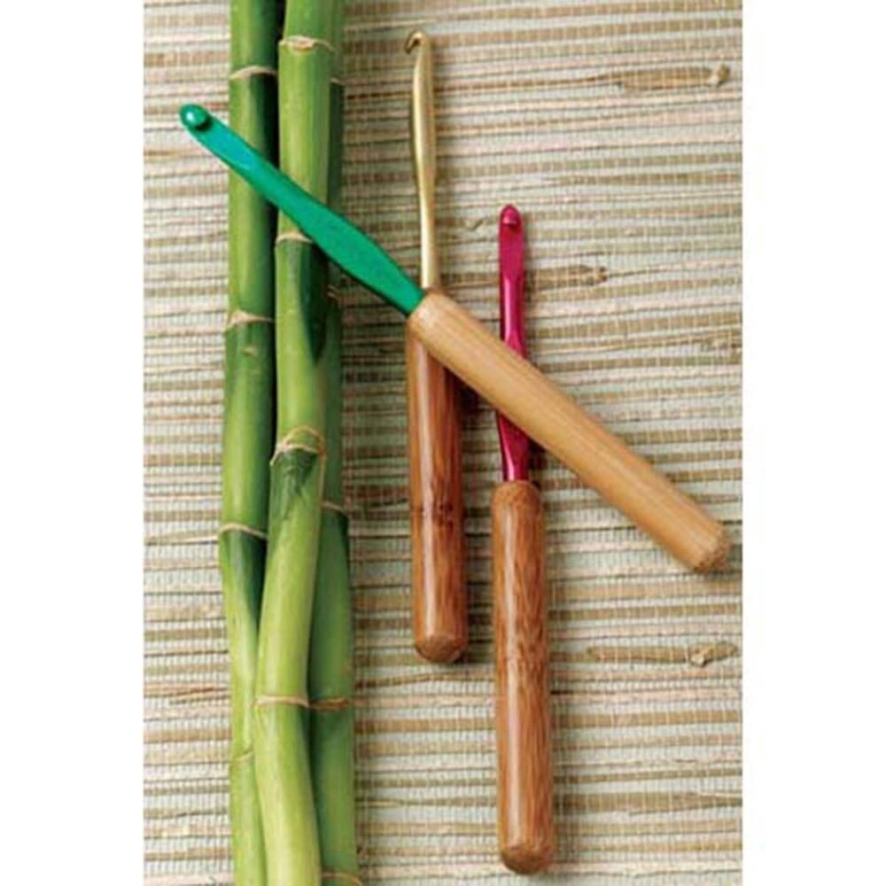 Susan Bates Crochet Hook Bamboo Handle