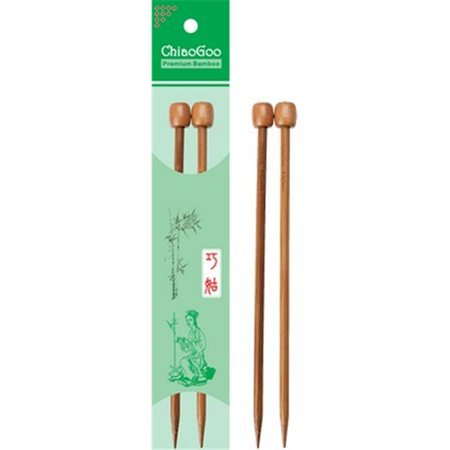 ChiaoGoo Single Point Needles Bamboo Dark/Wood 13