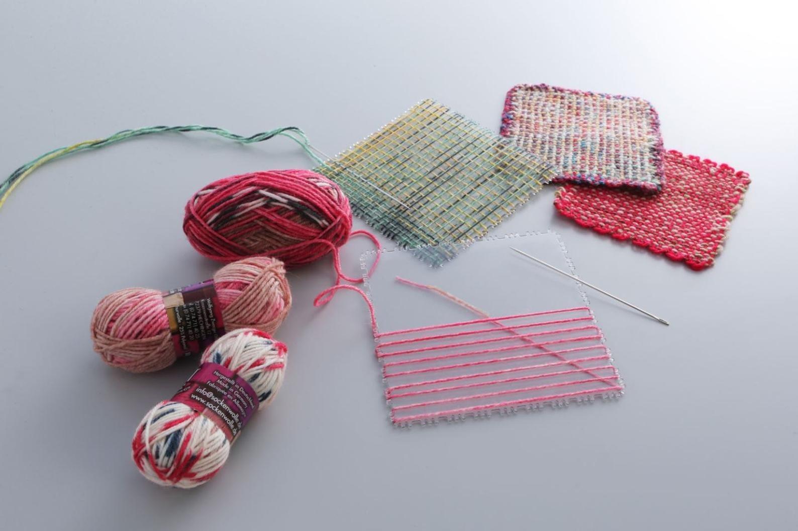 KA Square Weaving Loom
