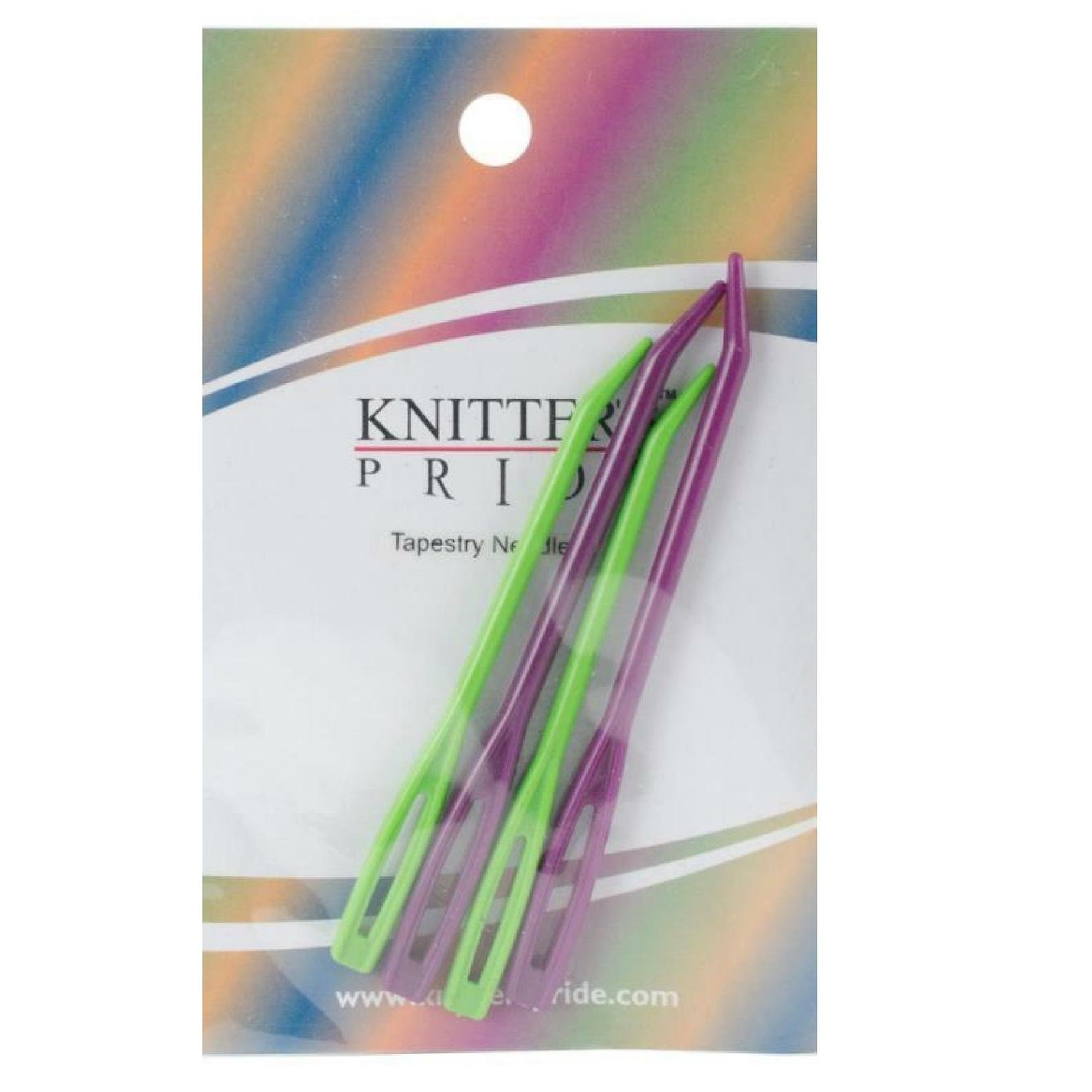 Knitter's Pride Tapestry Needle Set - Pack of 2 small and 2 large needles