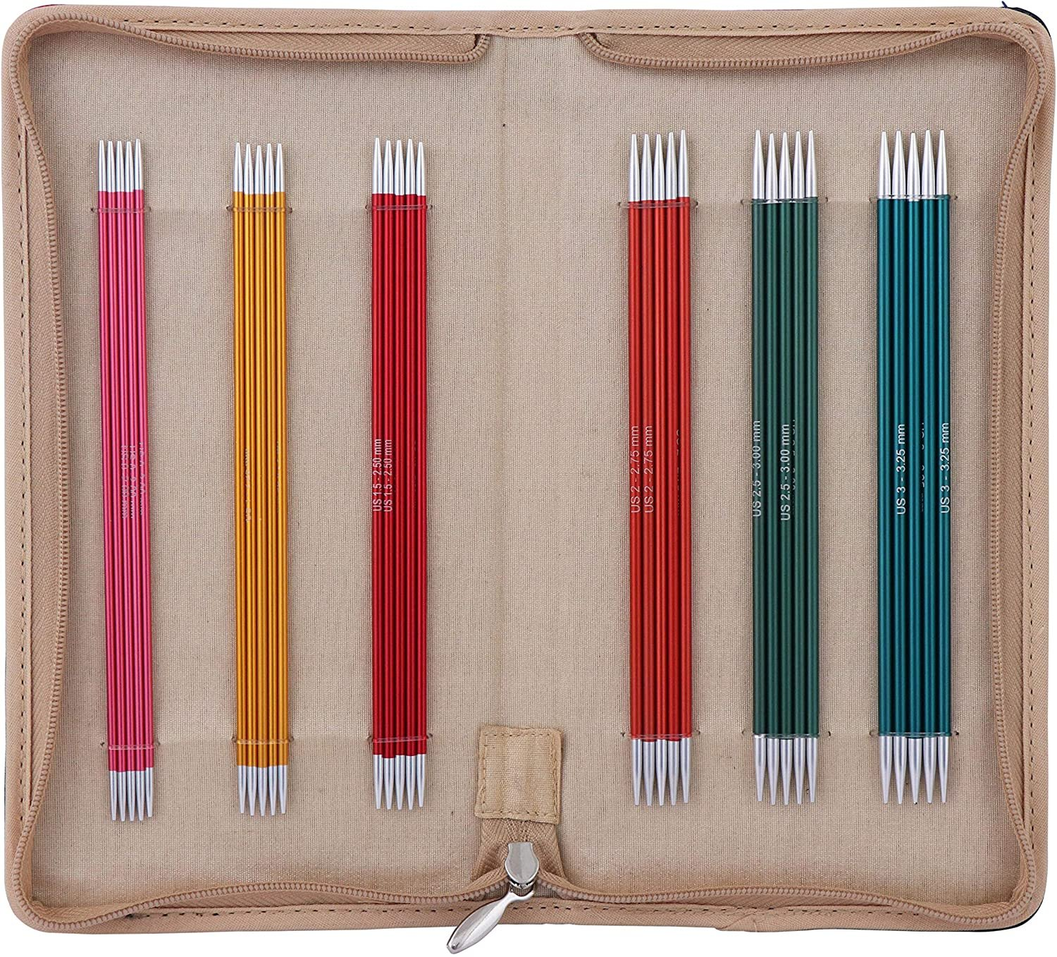 Knitter's Pride 6 in. Zing Double Point Needle Set
