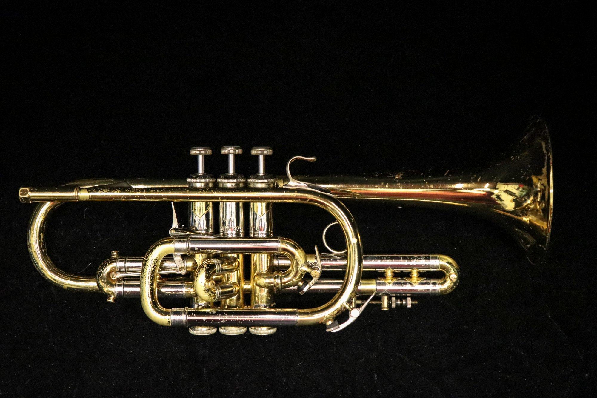 1966 Bach 37 Cornet