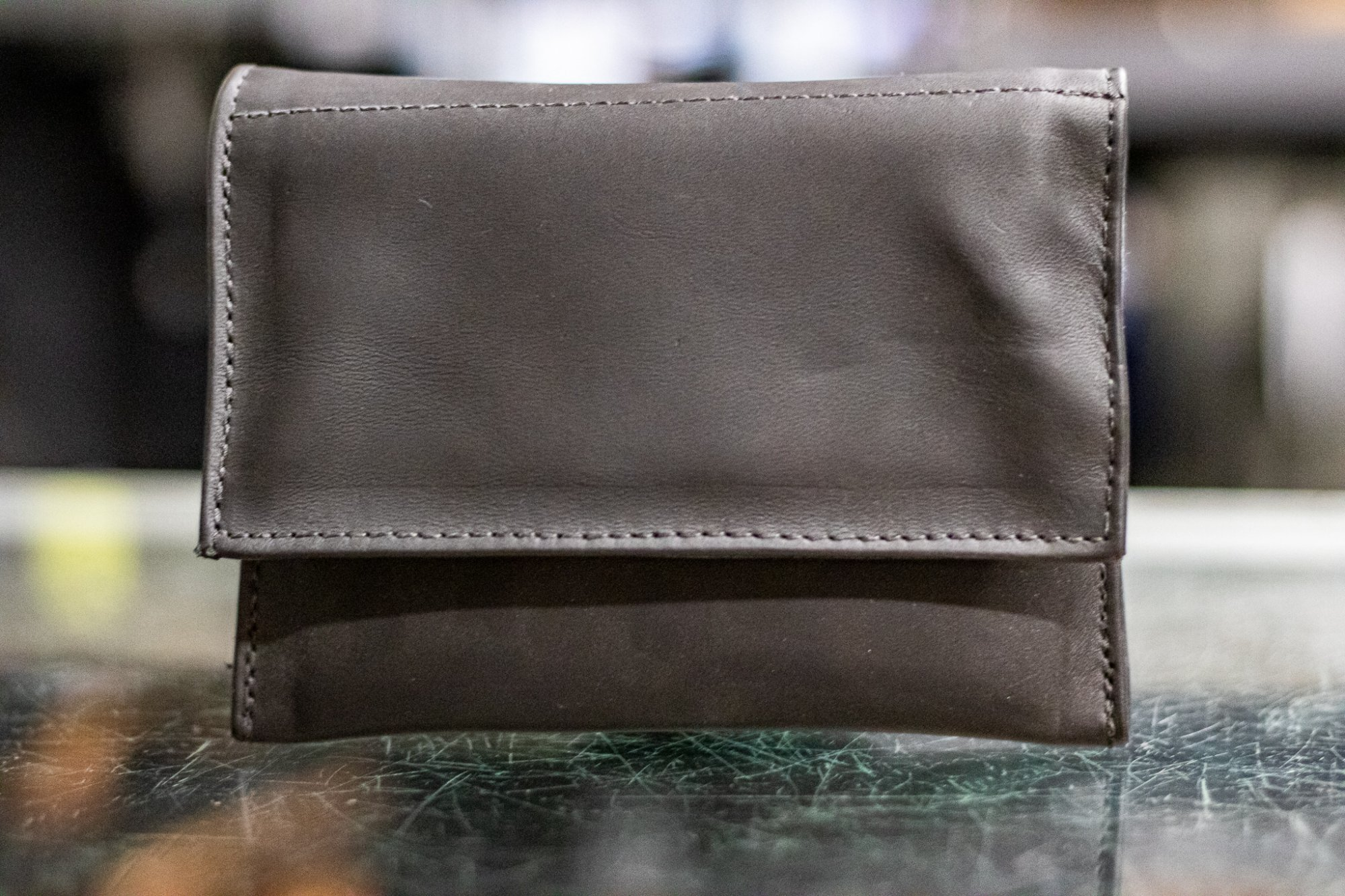 Torpedo Bag 2x Mouthpiece Holster - Trombone (DEMO) - Black Leather