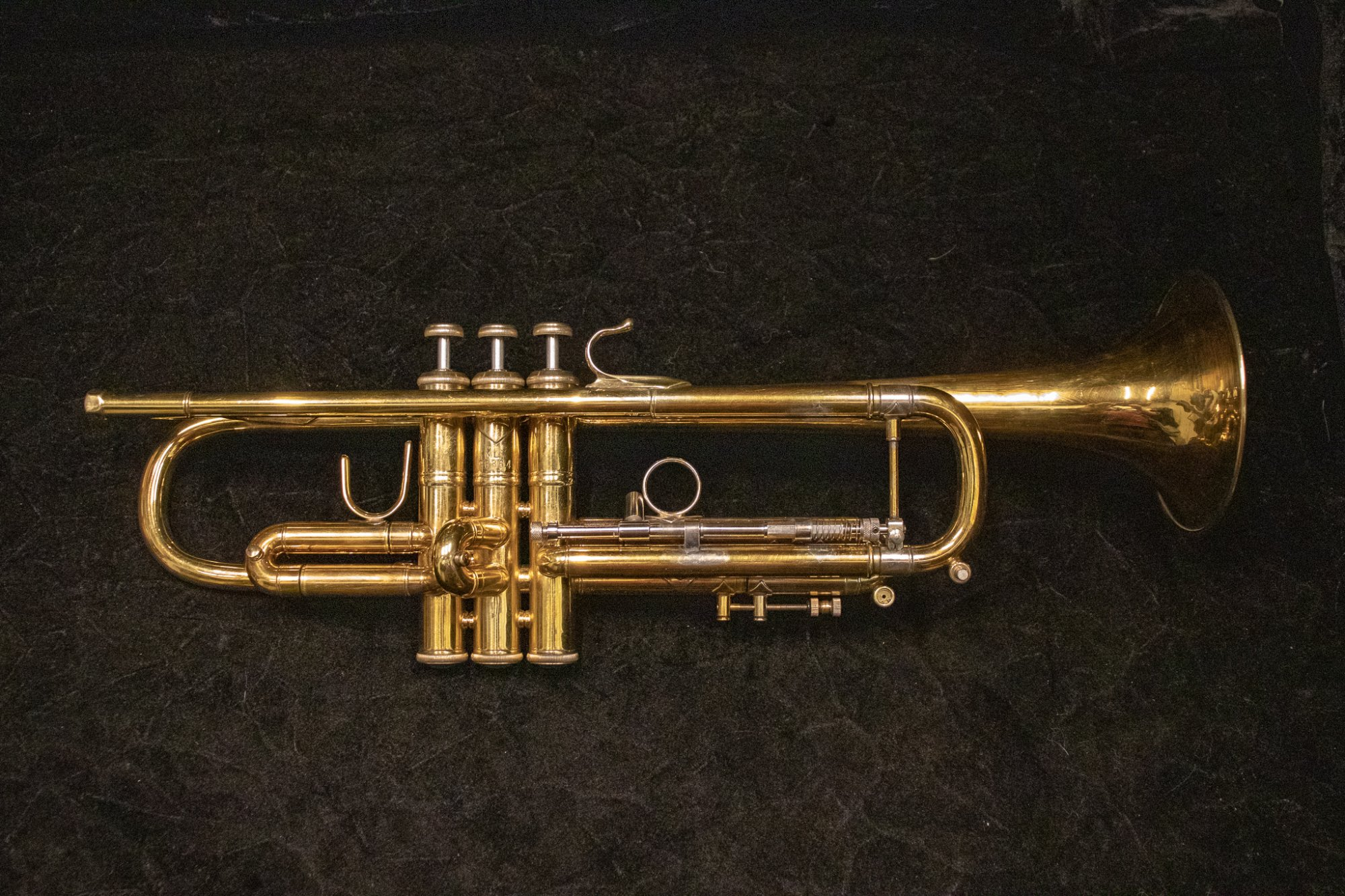 1973 Bach 37 Gold Plate