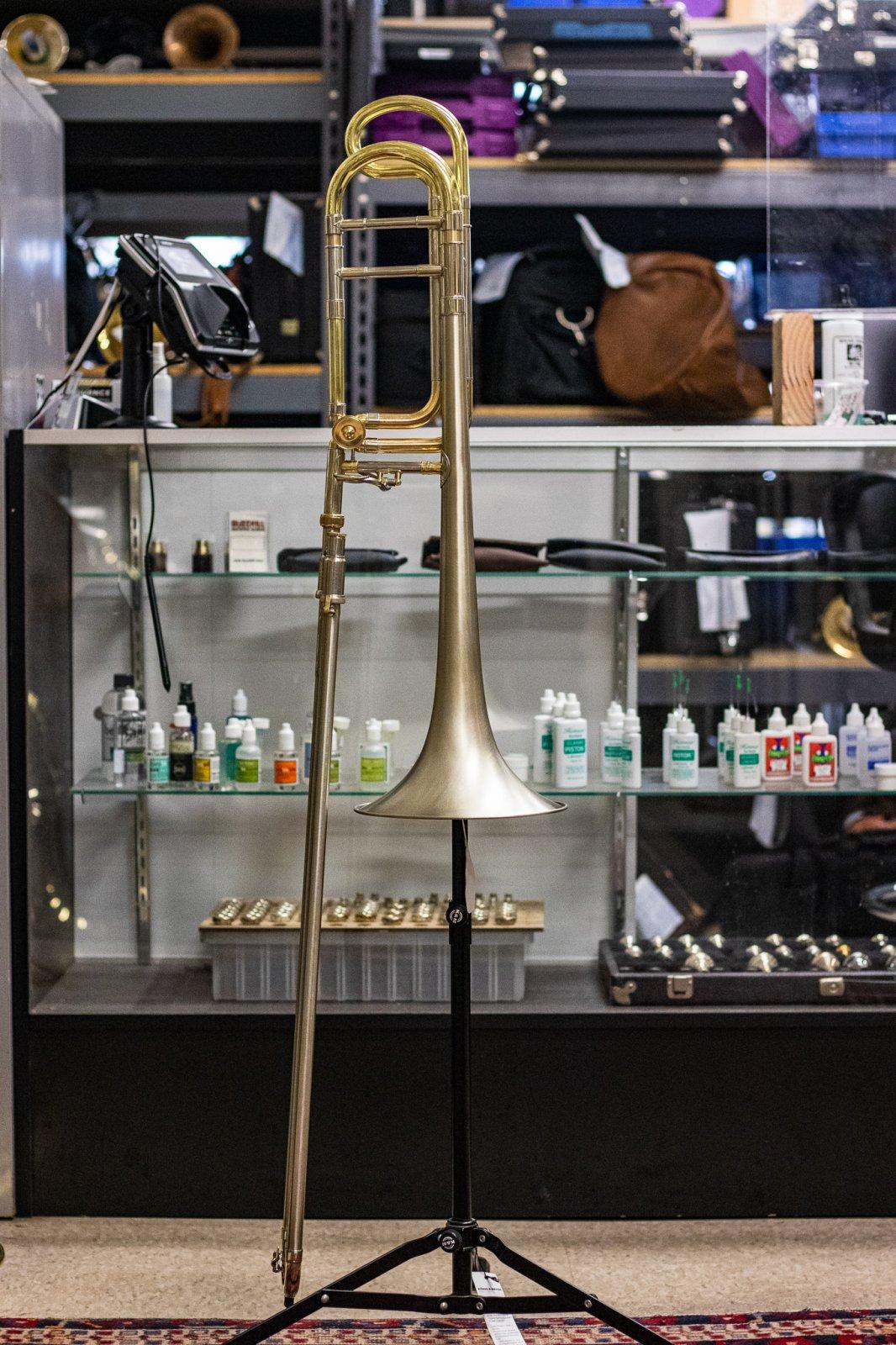 J. Landress Custom Tenor Trombone KG4 - HDKC All Nickel Everything