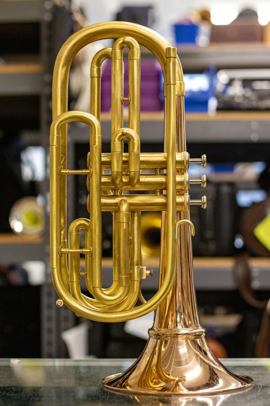 J. Landress Brass Flugelbone w/ Cut Bell