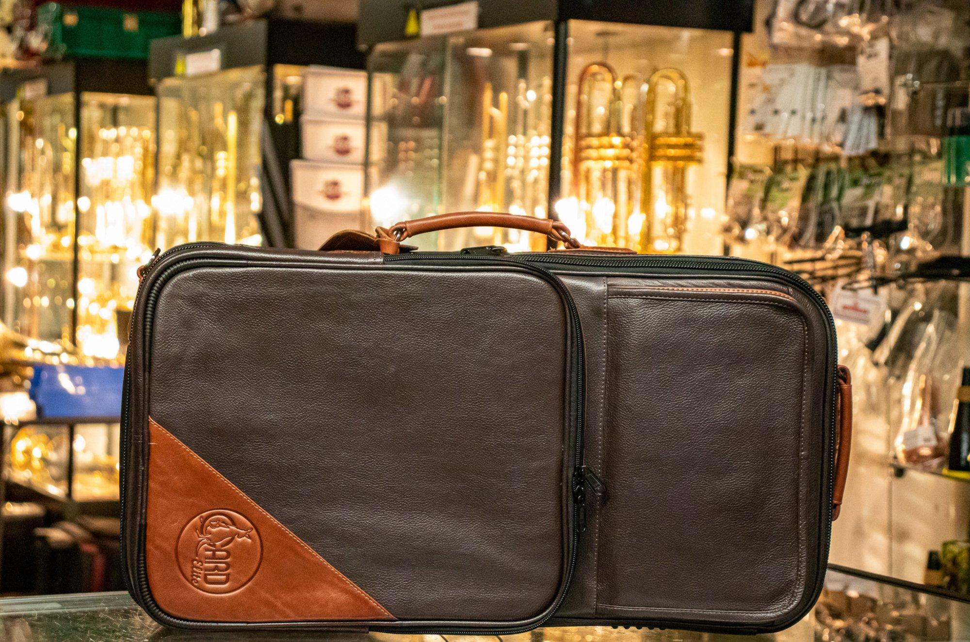 Gard Elite Compact Triple Leather Dark Chocolate