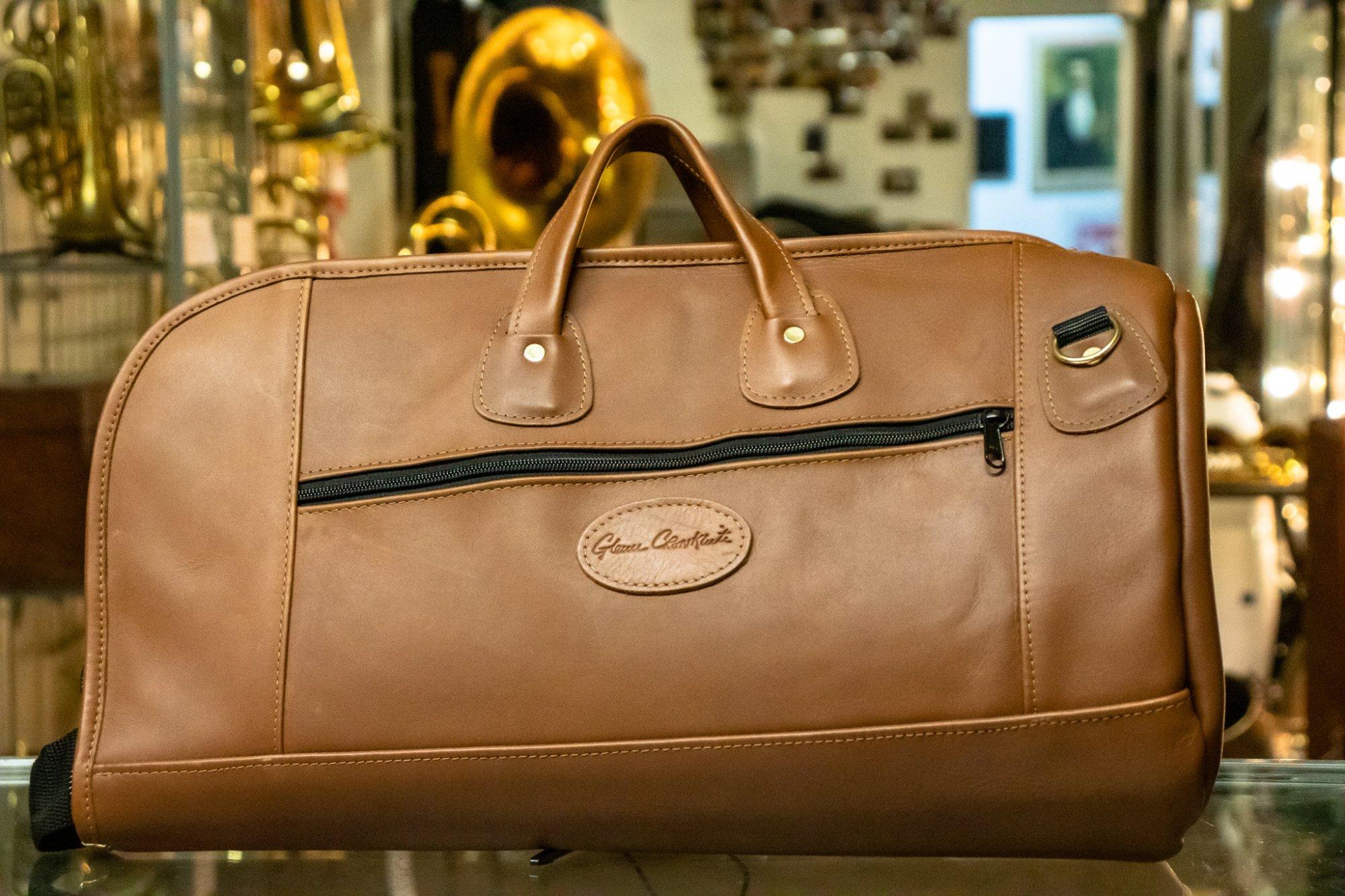 Cronkhite Light Brown Leather Flugelhorn Case
