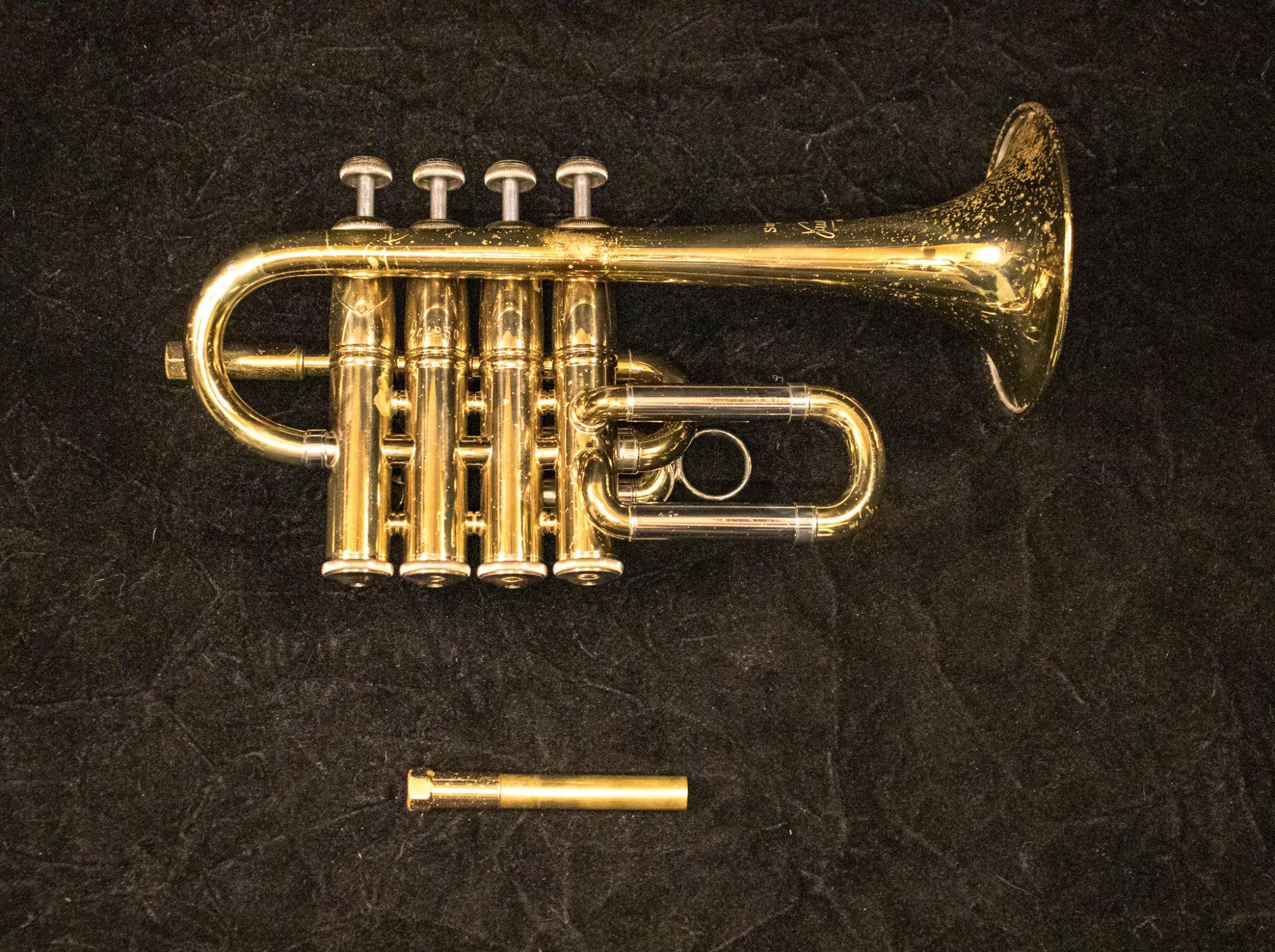 1984 Bach 196 Bb/A Piccolo Trumpet