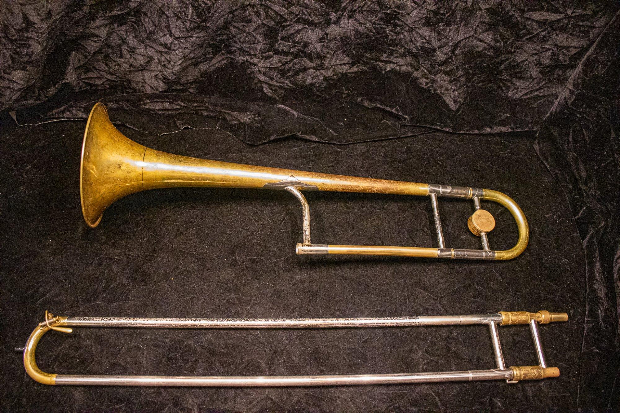 1950 King 2B Liberty Trombone