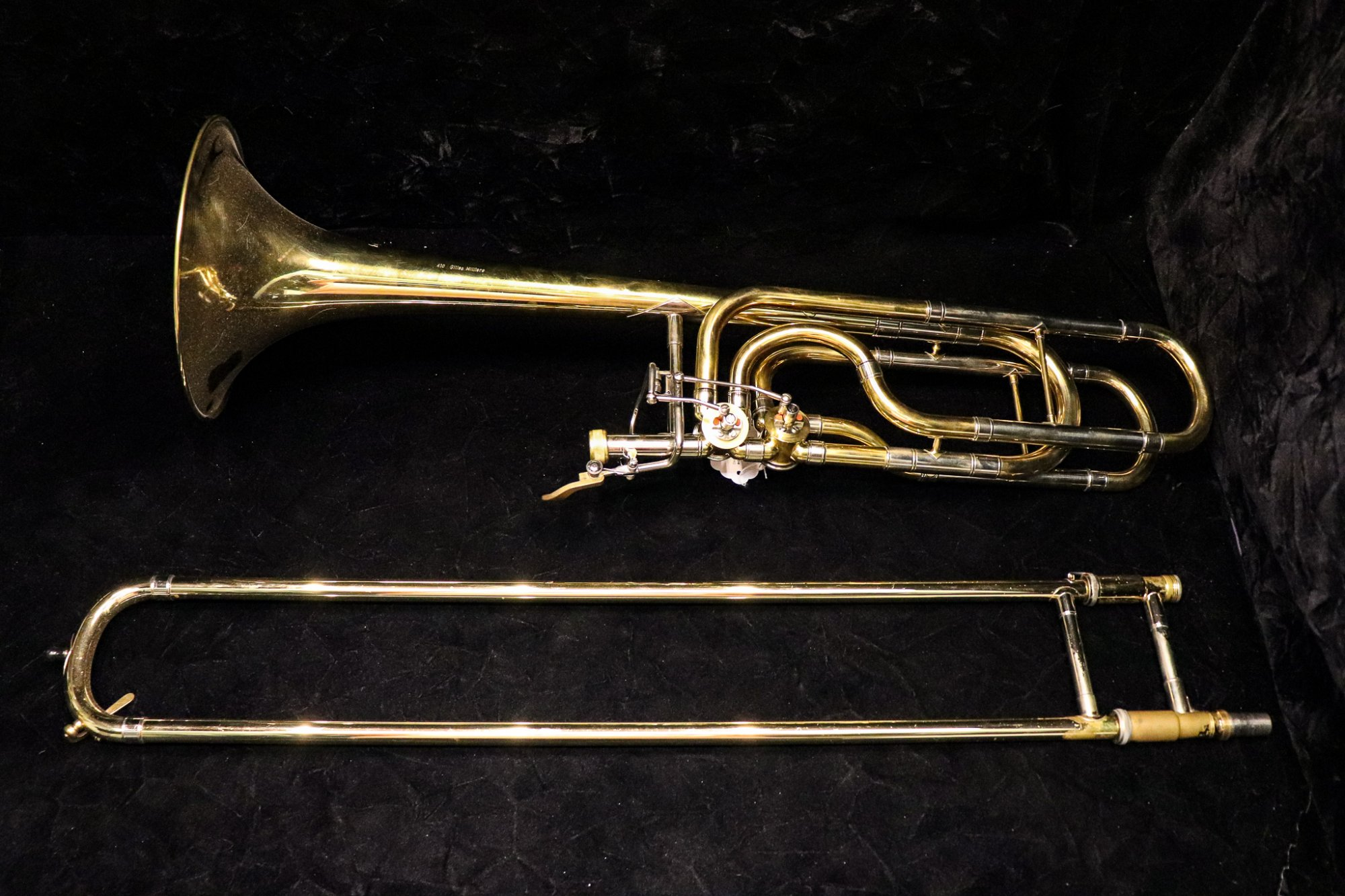 Courtois 410 Custom tenor/bass Trombone
