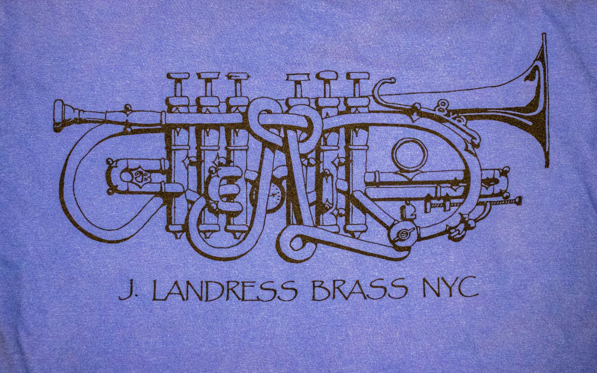 J. Landress Brass T-shirt
