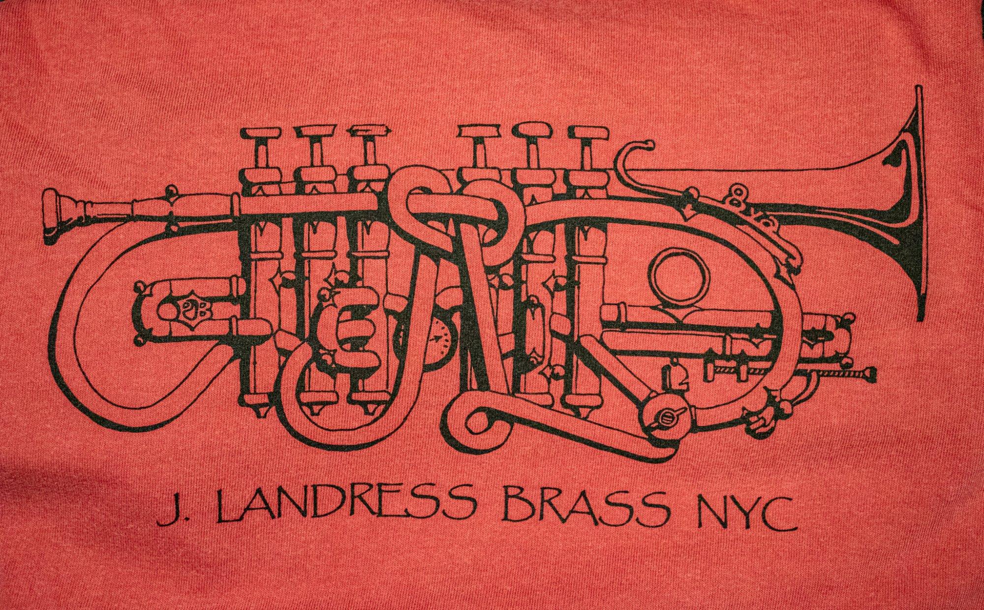 J. Landress Brass T-shirt Youth Sizing