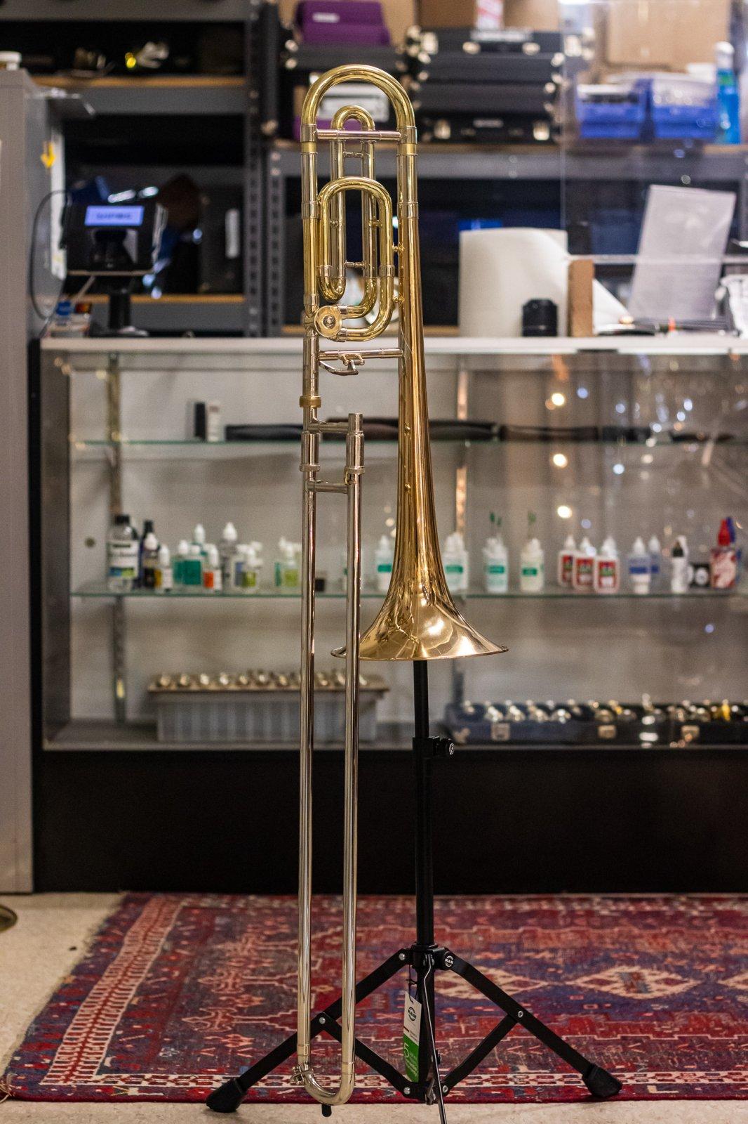 1997 Bach 36B Tenor Trombone w/ Gold Brass Bell - Used