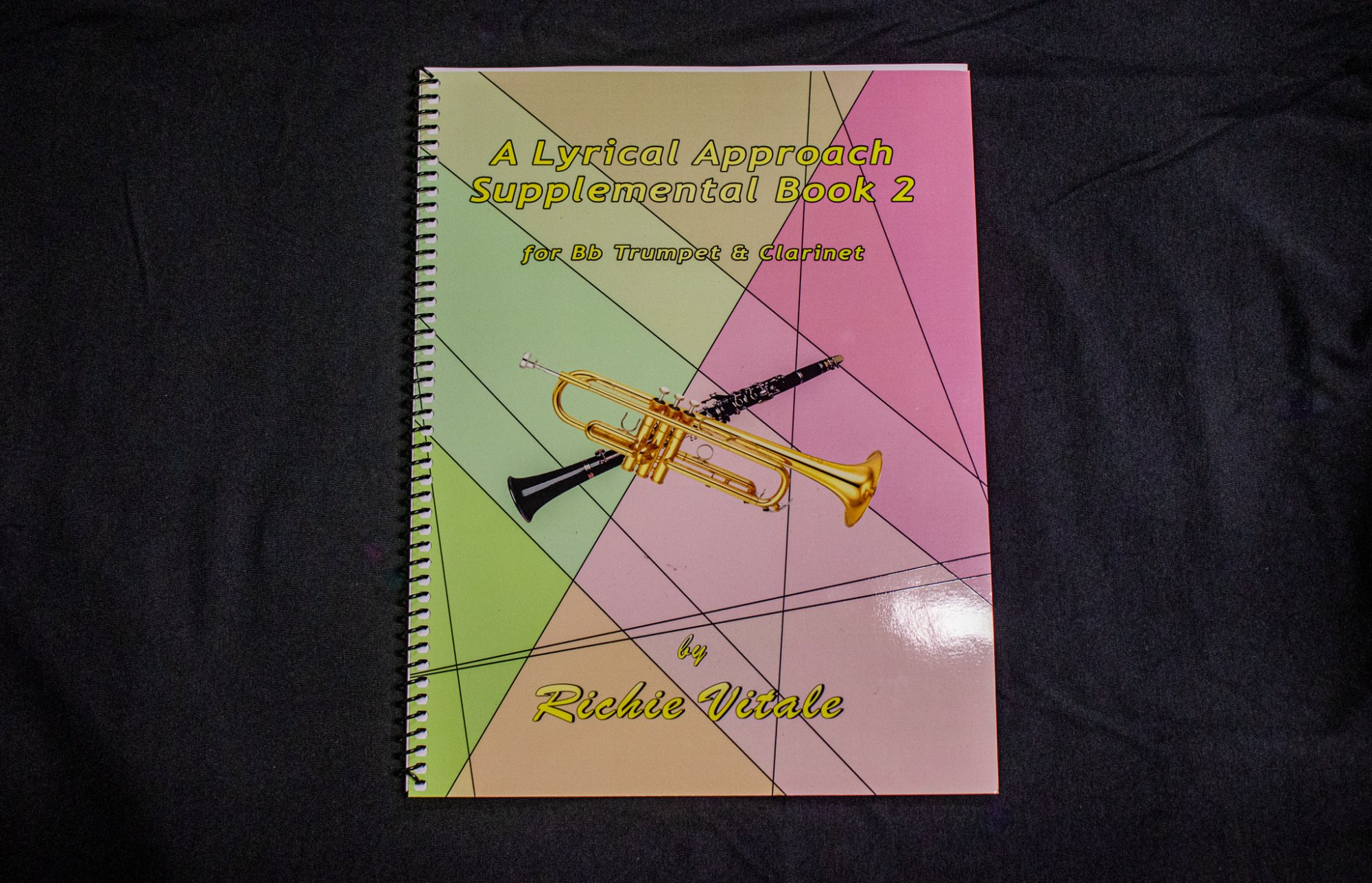 A Lyrical Approach Supplemental Book 2 by Richie Vitale