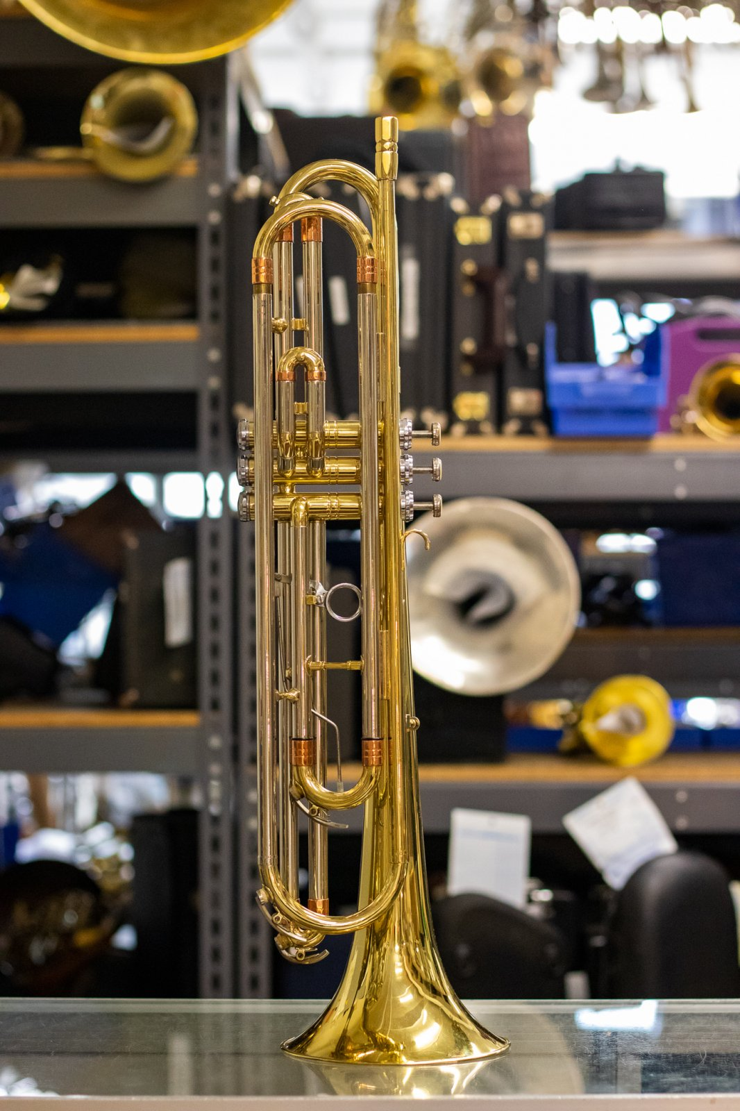 Getzen Deluxe Bass Trumpet - Used