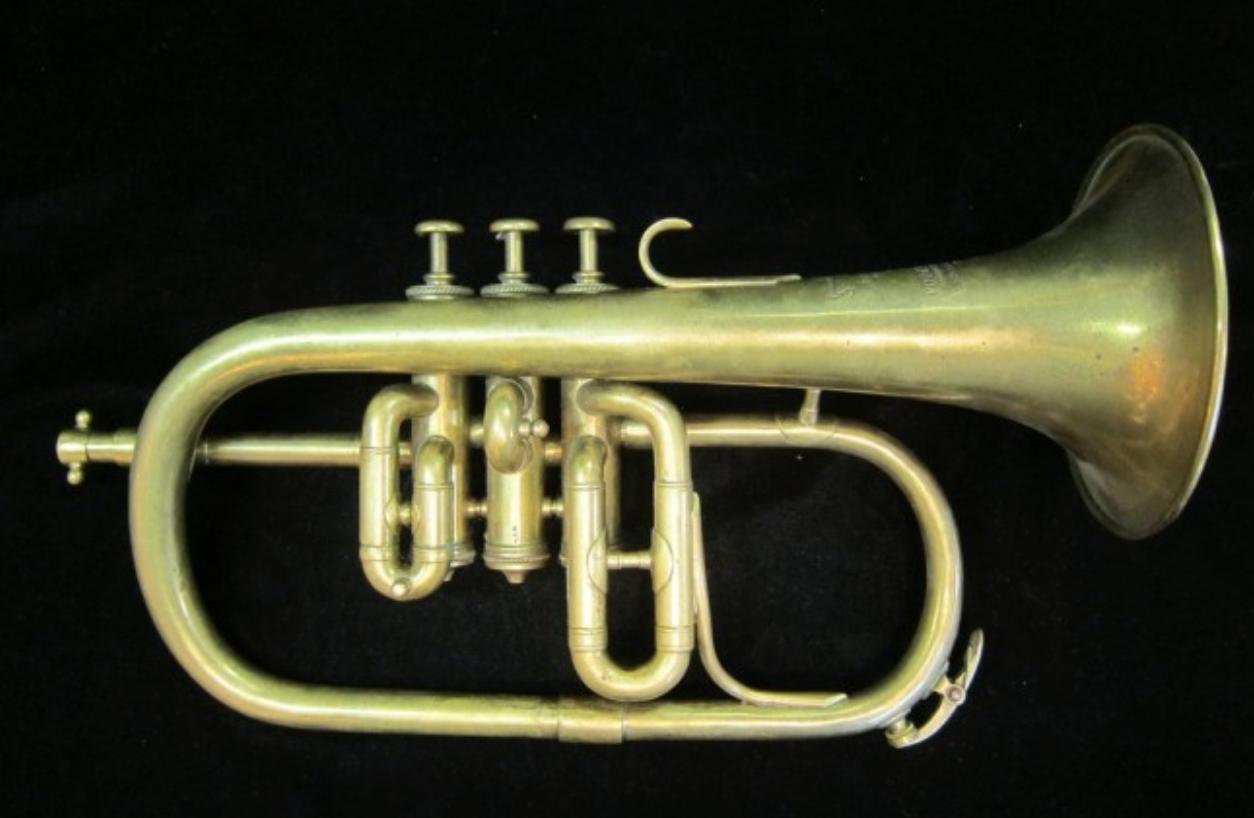 1935 Couesnon Eb Flugelhorn