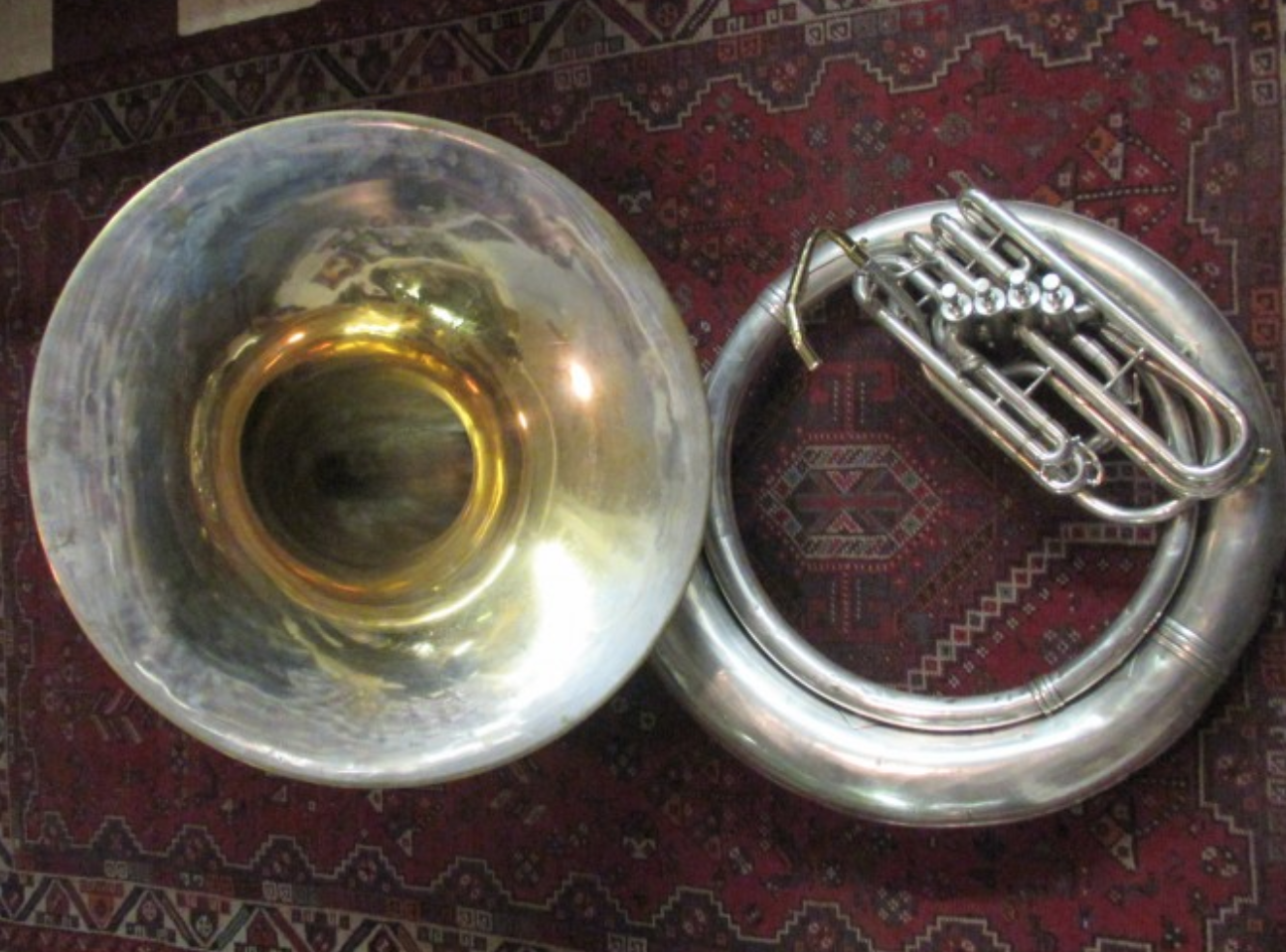 1931 King Giant BBb Sousaphone