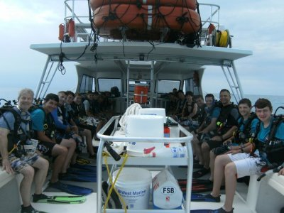 Troops and Crews get certified with us and then take dive adventures to Sea Base and around the world.