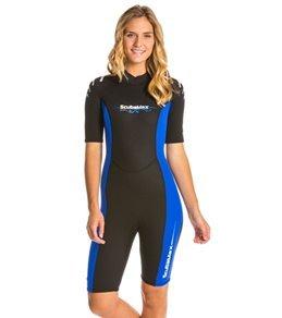 Scuba Max Women's 3mm Shorty Wetsuit
