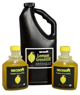 Seasoft Lemon GrenAIDE Wetsuit Cleaner 8 oz
